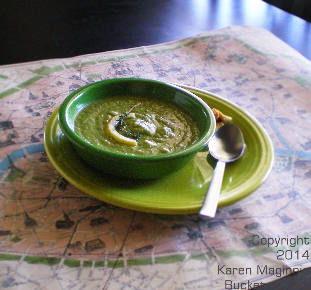 Asparagus Courgette Soup