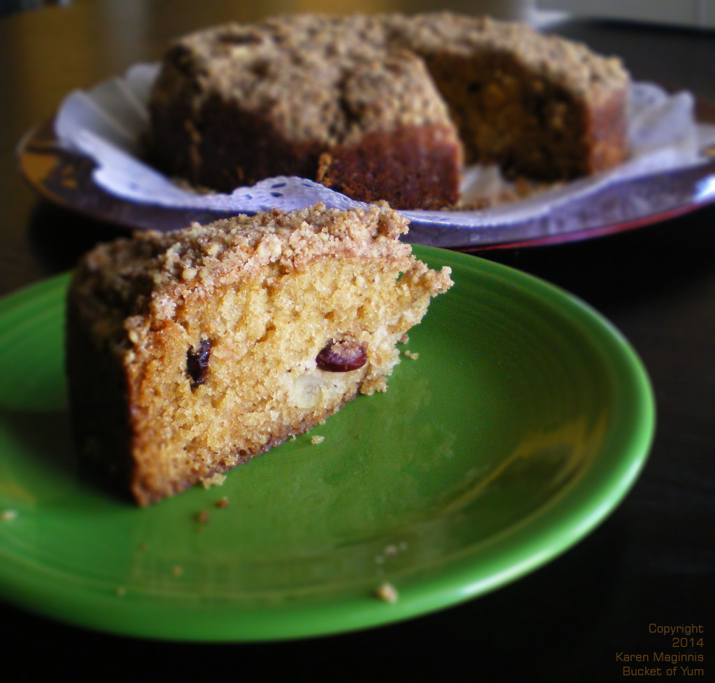 Apple Cranberry Crumb Cake