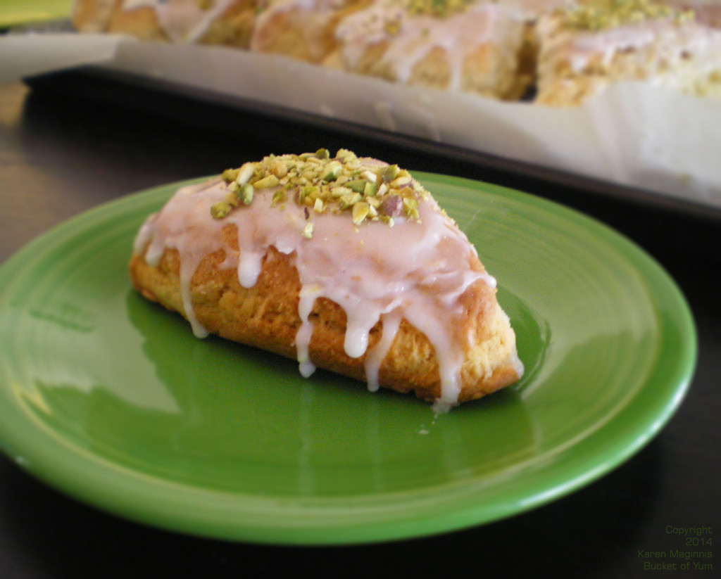 Lemon Pistachio Scone