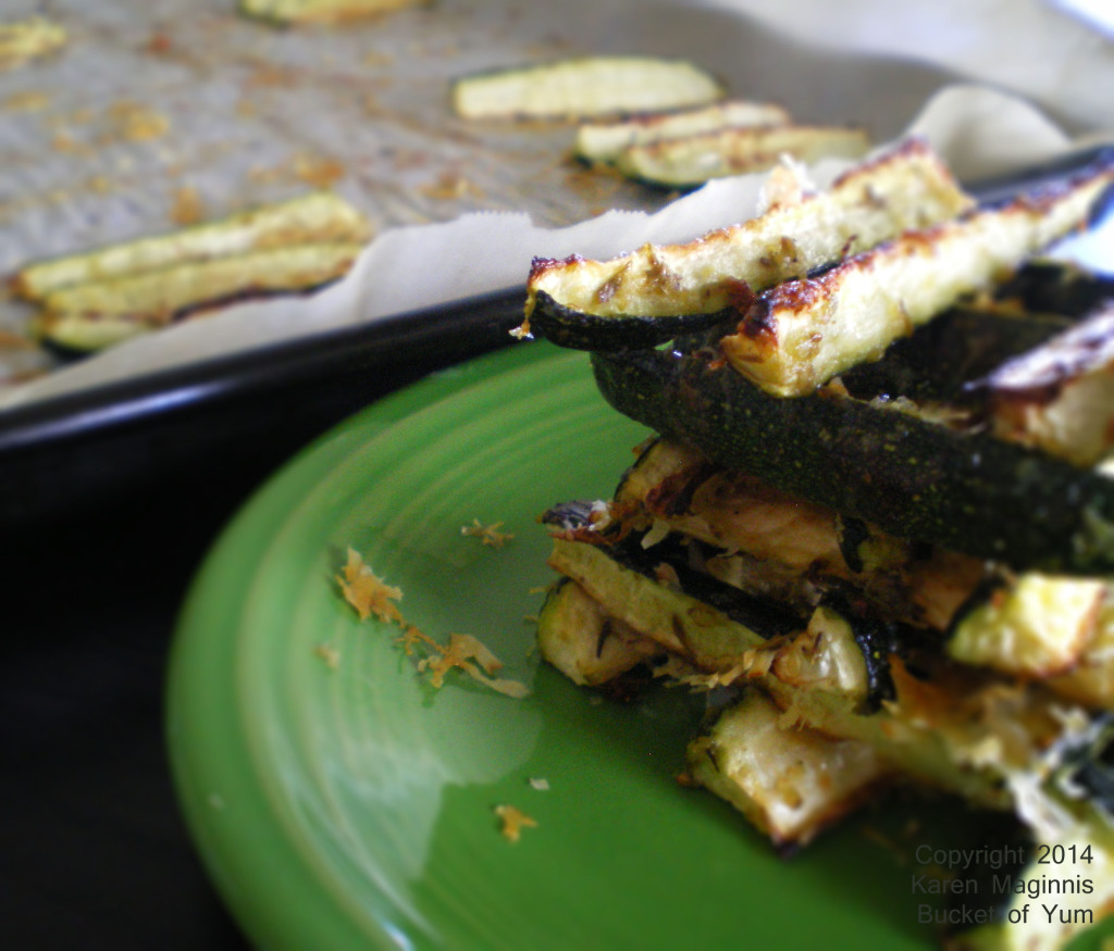 Cheese Herb Garlic Zucchini Sticks