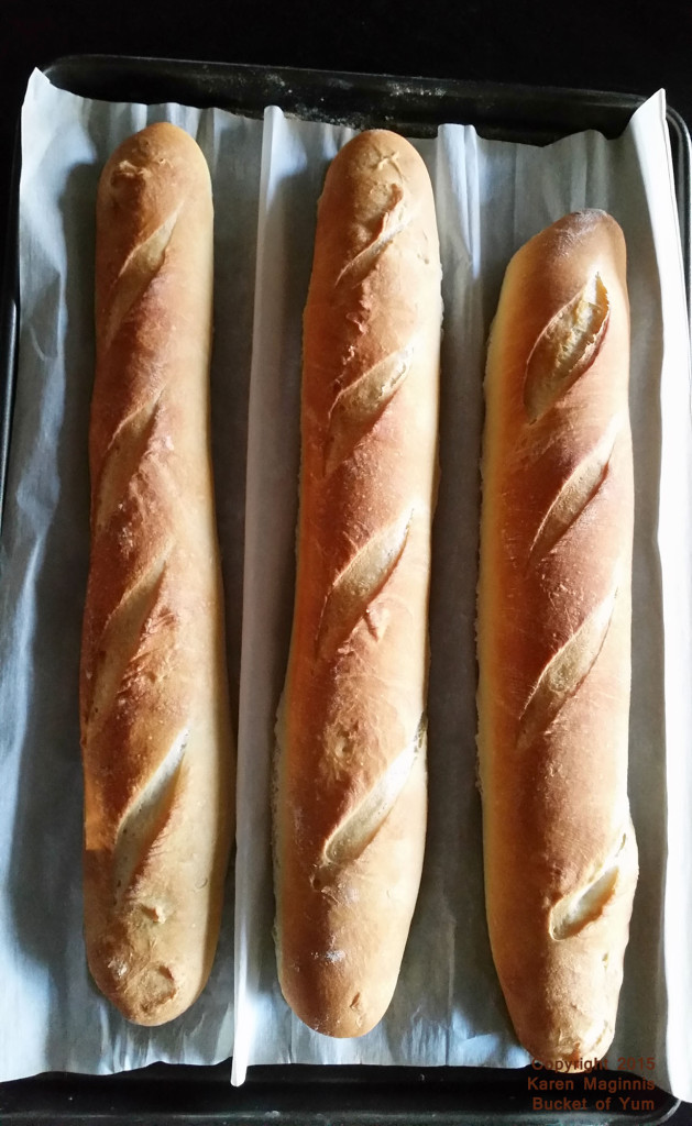 How can you resist bread, hot from the oven?