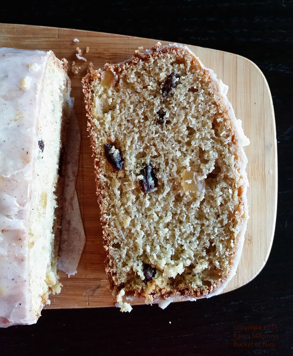 Ginger Raisin Spice Bread